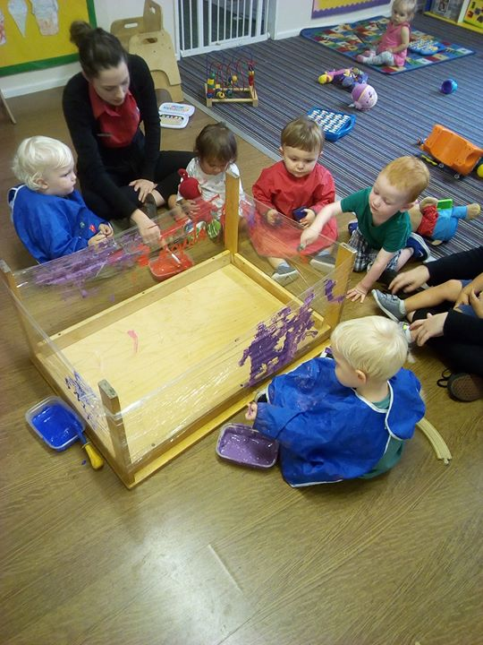 Today the babies at Tewkesbury have enjoyed getting ver...