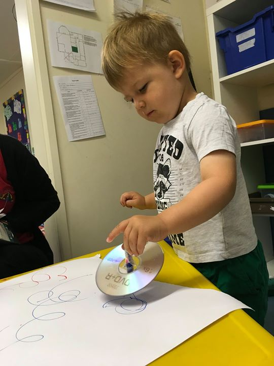 Tewkesbury toddlers had lots of fun matching shapes on ...